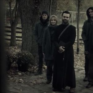 Lot #228 – The Silence (2019) The Reverend Billy MacLellan  Coat Sweater Shirt & Pants