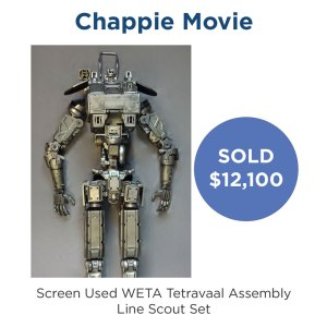Chappie WETA Assembly Line Scout Set