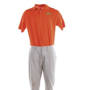 Lot #31 – Bad Trip Chris Carrey Eric Andre Screen Worn Stage 2 Sam's Smoothies Uniform Ch2