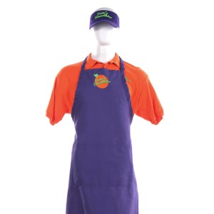 Lot #36 – Bad Trip Chris Carrey Eric Andre Screen Worn Stage 1 Sam's Smoothies Uniform Ch3