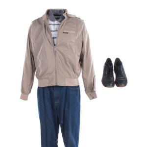 Lot #30 – Bad Trip Bud Malone Lil Rel Howery Screen Worn Stg1 Jacket Shirt Pants Shoes Ch3