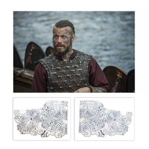 Lot #150 – Vikings King Harald Finehair Peter Franzen Production Used Tattoo Transfers Set3