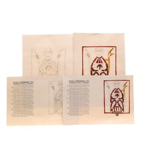 Lot #186 – Vikings Production Used Prototype Lindisfarne Monastery Graphics Set 11 Ep 102