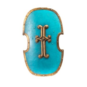 Lot #40 – Vikings Screen Used French Army Shield Ss 3-5