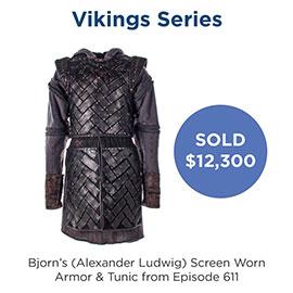Vikings - Fjorn screen worn wardrobe