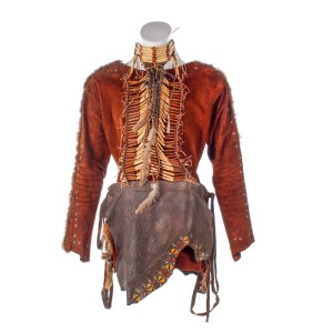 Lot #135 – Vikings Indigenous Male Screen Worn Tunic Loin Cloth Collar & Necklace Ep 619-620