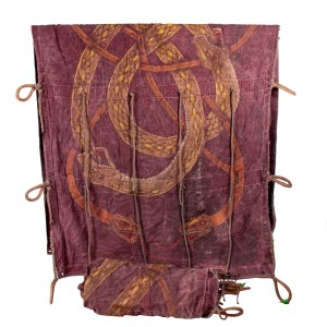 Lot #26 – Vikings Floki Gustaf Skarsgard Screen Used Sail Set