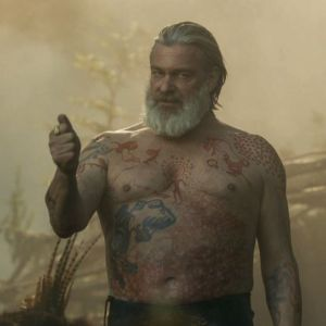 Lot #78 – Vikings Othere Ray Stevenson Production Used Tattoo Art Transfer Pieces Ss 6