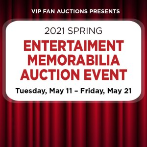 Spring Entertainment Memorabilia Auction