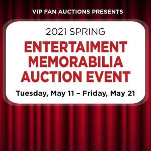 Spring Entertainment Memorabilia Auction