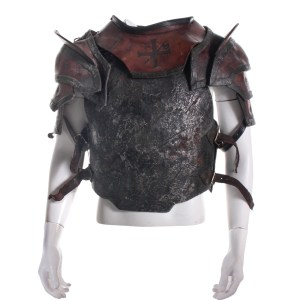 Lot #257 – The Last Witch Hunter (2015) Axe + Cross Soldier #5 James Hutchinson III Screen Worn Armor