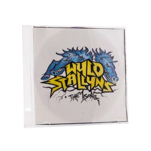 Lot #47 – Bill & Ted Face The Music (2020) Bill Alex Winter Screen Used  Wyld Stallyns CD Case & CD