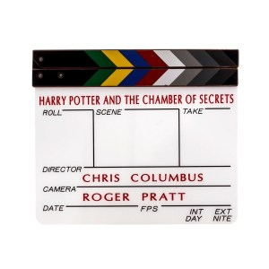 Lot #131 – Harry Potter and the Chamber of Secrets (2002) Production Made Clapperboard