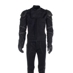 Lot #8 – Altered Carbon (2018-2020) Colonel Carrera Screen Worn Stunt Double Jacket Shirt Pants Belt & Gloves Ss 2