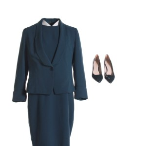 Lot #143 – House of Cards (2013-2018) Patti Whittaker Suzanne Savoy Screen Worn Suit & Shoes Ep 504