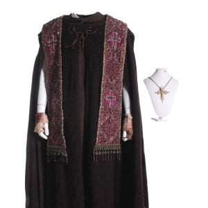 Lot #210 – Season of the Witch(2011) Debelzaq Stephen Campbell Morre Screen Worn Costume