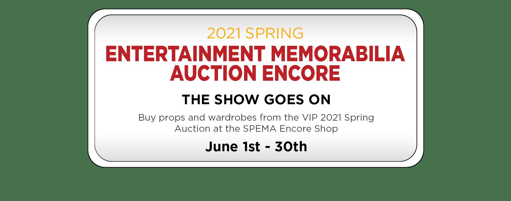 Spring Auction Shop