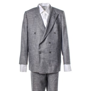 Lot #63 – Respect CL Franklin Forest Whitaker Screen Worn Suit & Shirt Ch 9 Sc 26-27