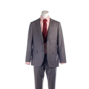 Lot #70 – Feed the Beast (2016-2016) Tommy Moran David Schwimmer Production Closet J Crew Suit Shirt & Tie