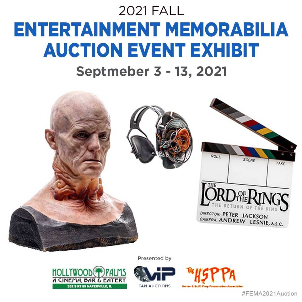 Fall Auction Exhibit at the Hollywood Palms in Naperville Illinois