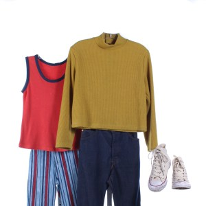 Lot #2 – Candyman Billy Screen Worn Photo Double Sweater Shirt Pant Set & Shoes Ch 1 & 2 Sc Multiple