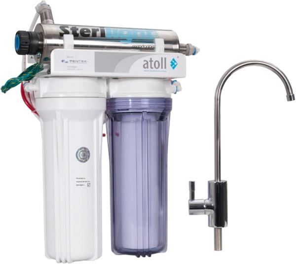 Проточный питьевой фильтр D-21u STD