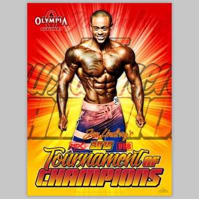 VIP Fitness posters for NPC and IFBB athletes