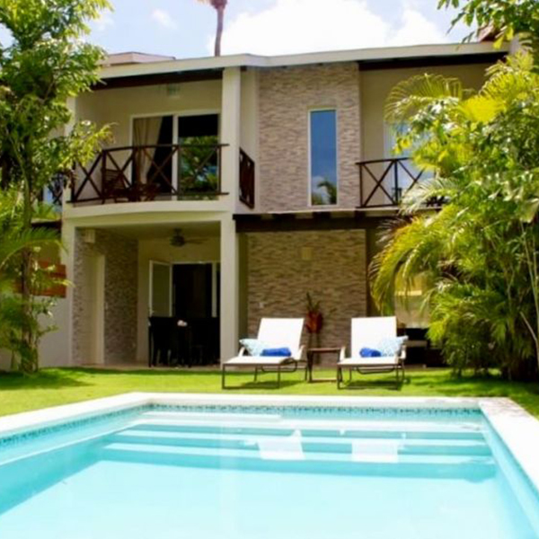 Cozy Villa with Private Pool in the Paradise Beach of Las Ballenas