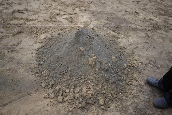цементную смесь