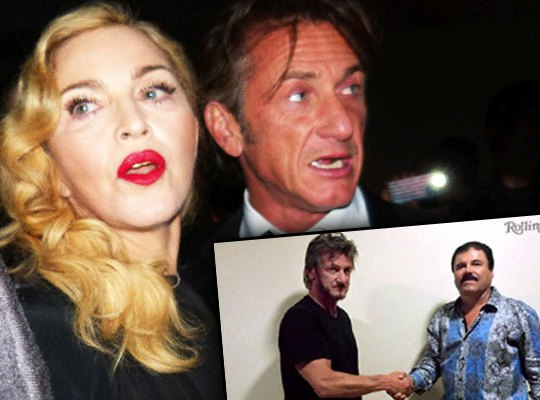 Madonna Scared For Her Life After Sean Penn's El Chapo Interview