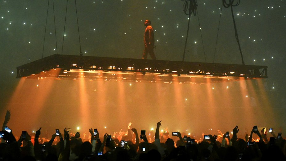 Kanye West Tells Shocked Concert Crowd: