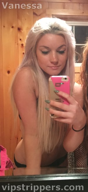 Mohegan Sun stripper Vanessa