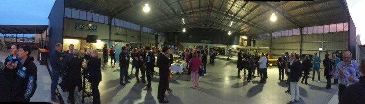 Networking at Skydive Oz