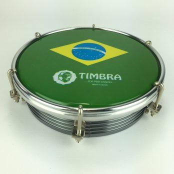 Timbra Aluminum Tamborim Brazil Head