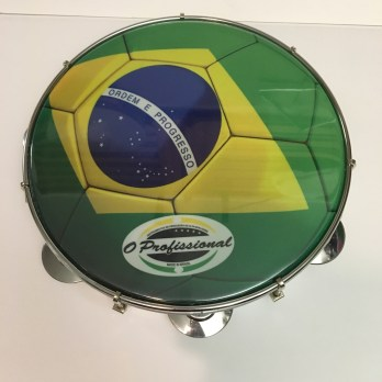 O Profissional 10″ pandeiro, formica, Brazil head