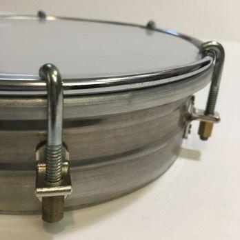 RG Stainless Steel Tamborim