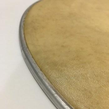 Gope skin head on aluminum hoop, 12-14″