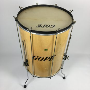Gope Wood Surdo with legs, 18""