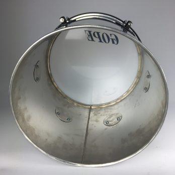 Gope aluminum Repique de mão, 12″ silver