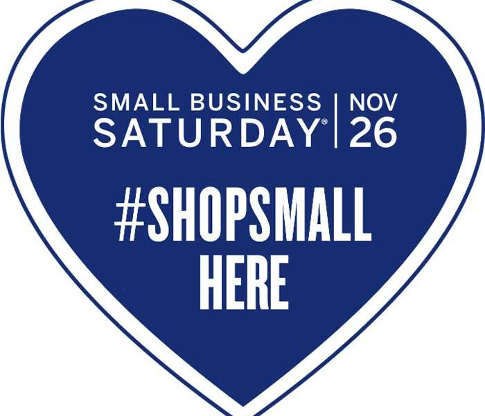 Join Us Nov. 26th for Small Business Saturday!