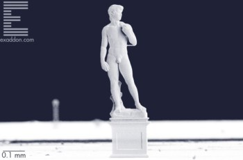 Micro-angelo? This 3D-printed 'David' is just one millimeter tall – TechCrunch