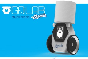 Charmin goes beyond TP with smell detector, roll fetcher, and V.I.Pee porta potty