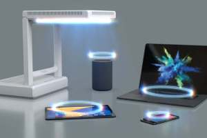 GuRu places mmWave wireless chargers in roving robots and room decor