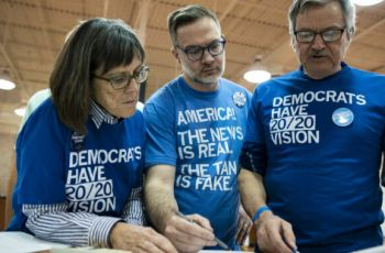 Robust, scalable not words that apply to Iowa Dem Caucus app