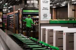 Amazon offers no-checkout technology to other retailers