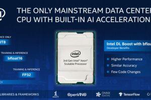 Intel's 3rd-generation Xeon Scalable CPUs offer 16-bit FPU processing