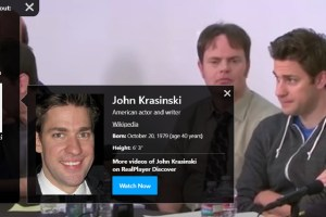 Real Networks 20/20 and Star Search use AI to identify celebrities in videos