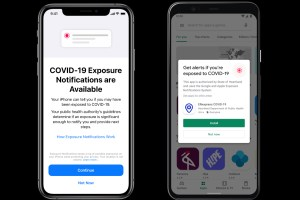 Apple and Google say 25 states and territories have explored using COVID-19 contact tracing apps
