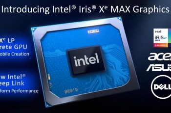 Intel launches Iris Xe Max graphics chip with three laptop makers