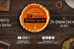 G4 holds a holiday reunion special with Comcast NBCUniversal